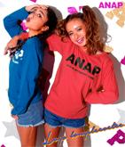 『ANAP』ロゴロングTシャツ