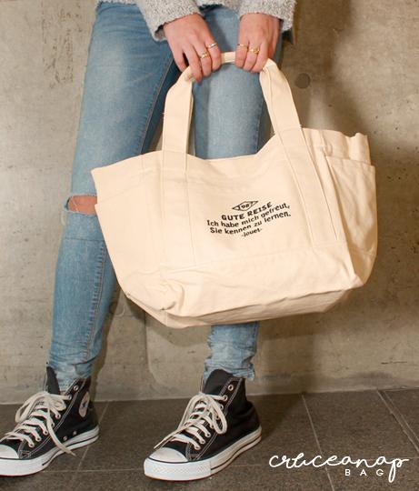 5カラー刺繍メッセージトートバッグ