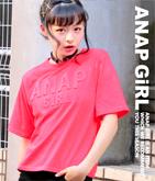 5分袖エンボスロゴTシャツ