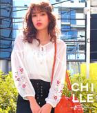 袖刺繍ボヘミアン風トップス