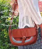 ネイティヴ刺繍ショルダーバッグ