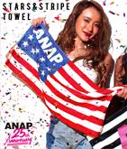 ANAP 25th アメリカンフラッグロゴフェイスタオル