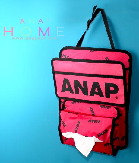 『ANAP』ロゴカーポケット