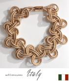 金糸マクラメデザインネックレス