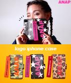『ANAP』ロゴ3パターン柄iPhoneケース