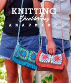 タッセル付きカギ編みショルダーバッグ