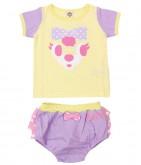 キャラクターTシャツ+ブルマセットアップ