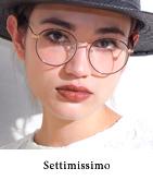 エナメルメタルフレームメガネ
