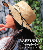 パイピング刺繍HAT