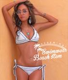 ステッチデザインswimwear