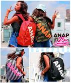 ANAP 25th 3パターンロゴリュック