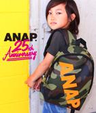 ANAP 25th バイカラーロゴ斜メリュック