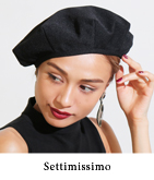 ピケミリタリーベレー帽