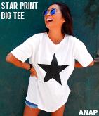 スタープリントBIGTシャツ