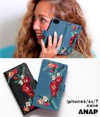 刺繍デザインiphoneケース