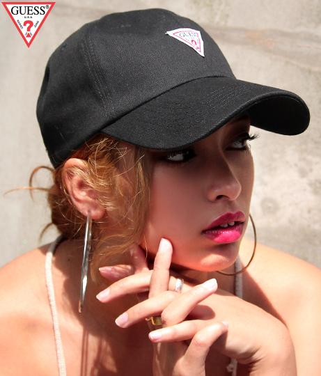【新色追加】GUESS  6 PANEL CAP