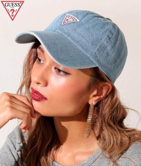 【新色追加】GUESS DENIM 6 PANEL CAP