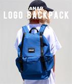 ☆新色追加☆『ANAP』BOXロゴワッペンカラーバックパック