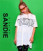 『UNIQUE』ロゴBIGTシャツワンピース【別売りSETUP】