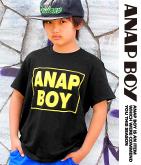 「ANAP BOY」BOXロゴTシャツ