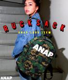『ANAP』ロゴ リュック