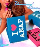 I LOVE『ANAP』ロゴミラー