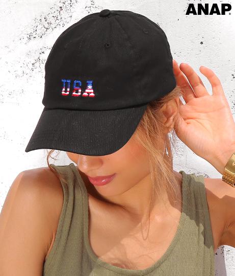 USA刺繍キャップ