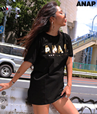 『ANAP』ロゴTシャツ
